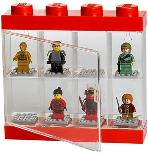 LEGO Minifigure Display Case Small Details