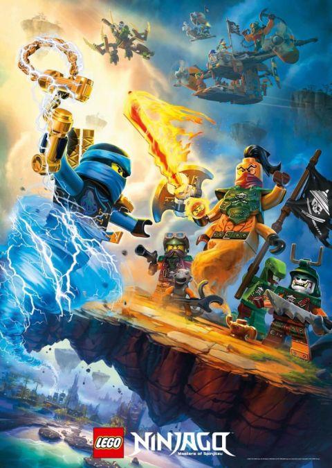LEGO Ninjago 2016 Poster