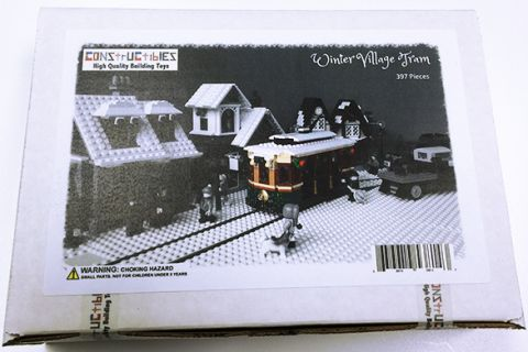 LEGO Winter Village Tram by Miro 5