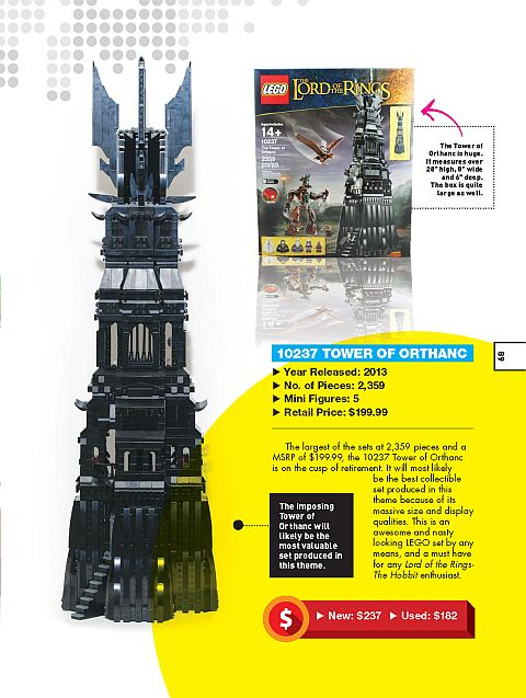 The Ultimate Guide to Collectible LEGO Sets Lord of the Rings Tower