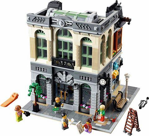 #10251 LEGO Creator Brick Bank 7