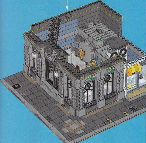 #10251 LEGO Creator Brick Bank 95