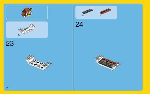 #31044 LEGO Creator Instructions