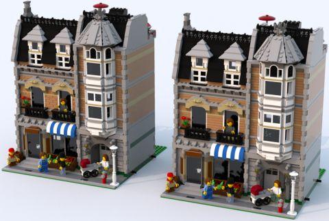LEGO Green Grocer Alternate Colors 4