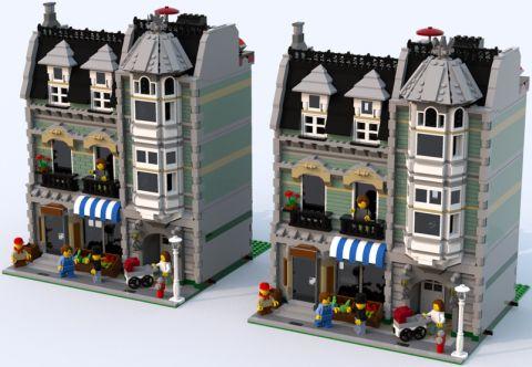 LEGO Green Grocer Alternate Colors 5