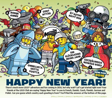LEGO Minifigures Series 15 LEGO Club Magazine