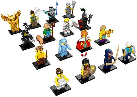LEGO Minifigures Series 15 More Details