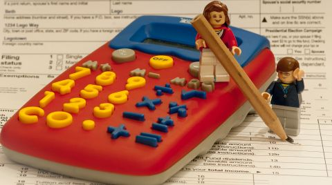 LEGO and Taxes - Photo by Jeff Gamble