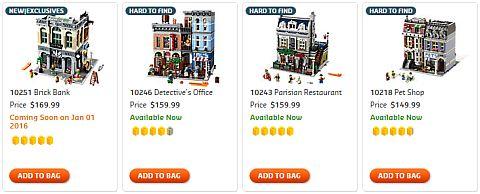 Shop LEGO Creator Modulars