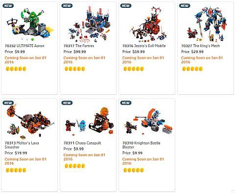 Shop LEGO Nexo Knights