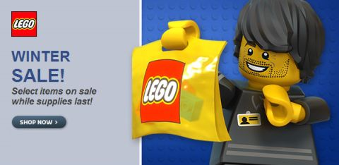 Shop LEGO Sales Winter