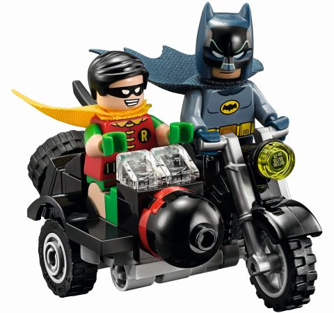 #76052 LEGO Batcave Batcycle