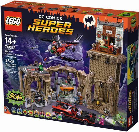 #76052 LEGO Batcave Box Back