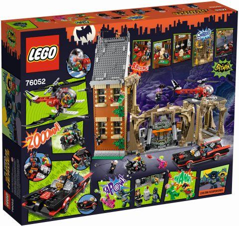 #76052 LEGO Batcave Box Front