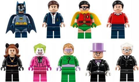 #76052 LEGO Batcave Minifigures