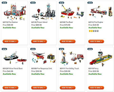 Shop 2016 LEGO City