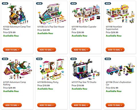 Shop 2016 LEGO Friends