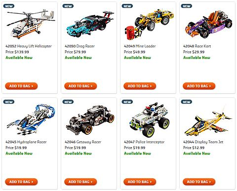 Shop 2016 LEGO Technic