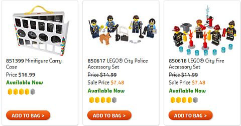 Shop LEGO City Minifigures