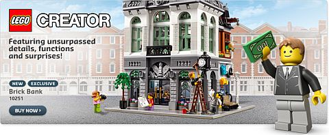 Shop LEGO Creator Brick Bank