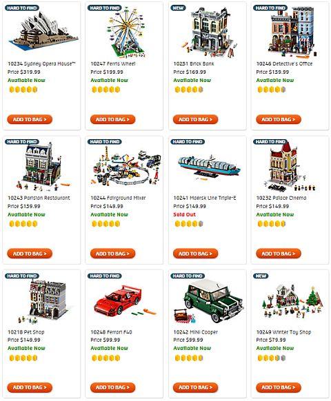 Shop LEGO Creator Expert