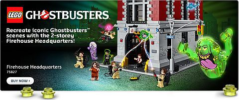 Shop LEGO Ghostbusters Firehouse