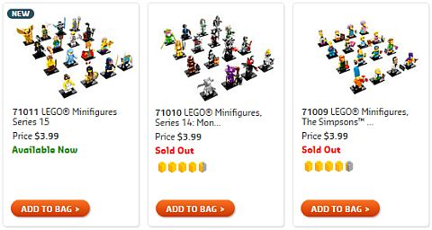 Shop LEGO Minifigs Series 15