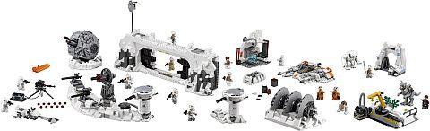 #75098 LEGO Star Wars Assault on Hoth Details