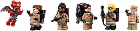 #75828 LEGO Ghostbusters Ecto-1 Minifigures