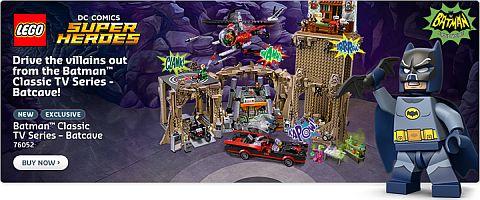 #76052 LEGO Batman Batcave Available Now