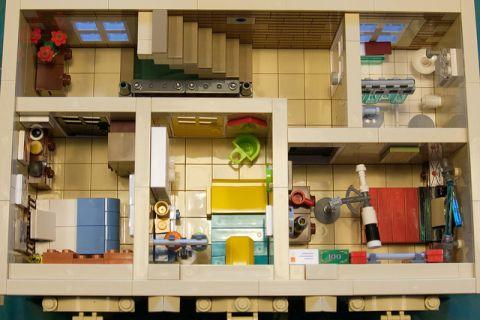 LEGO Modular Kwik-E-Mart 11 by cimddwc
