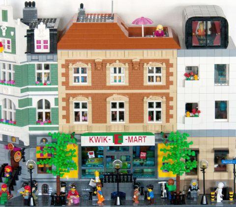 LEGO Modular Kwik-E-Mart 13 by cimddwc