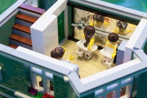 LEGO Modular Kwik-E-Mart 2 by cimddwc