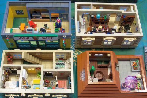 LEGO Modular Kwik-E-Mart 4 by cimddwc