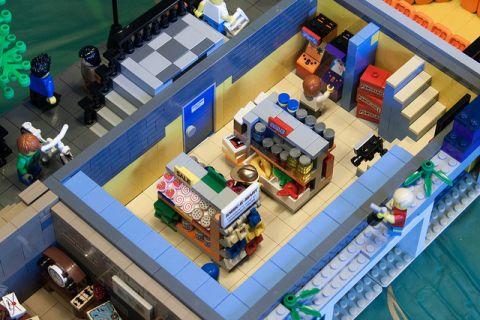 LEGO Modular Kwik-E-Mart 5 by cimddwc