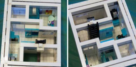 LEGO Modular Kwik-E-Mart 7 by cimddwc