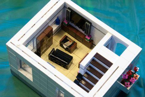 LEGO Modular Kwik-E-Mart 9 by cimddwc