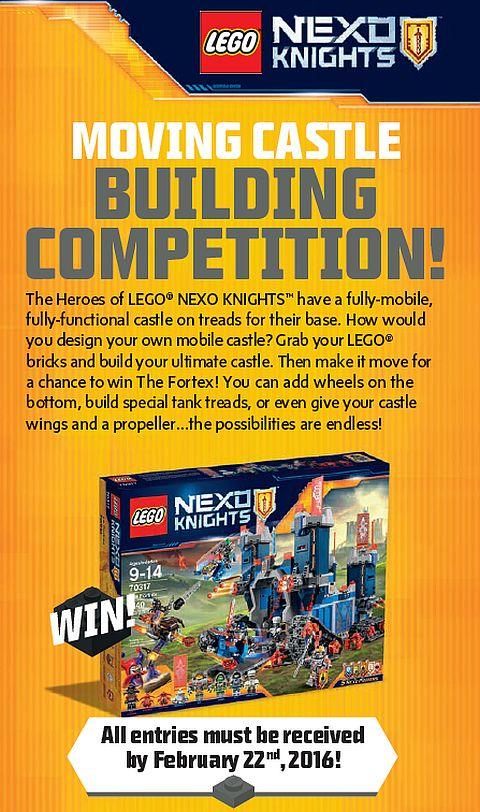 LEGO Nexo Knights Contest Details