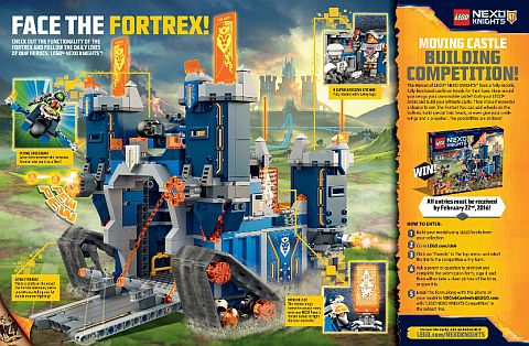 LEGO Nexo Knights Contest