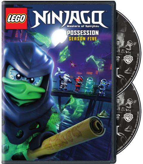 LEGO Ninjago Season 5 DVD Available Now
