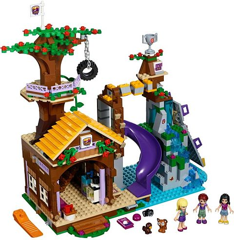 LEGO Tree House #41122 LEGO Friends Adventure Camp