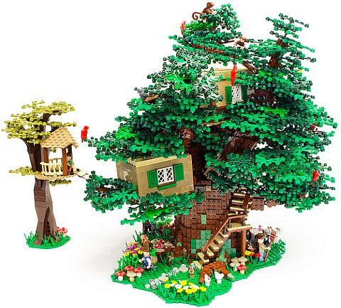 LEGO Tree House by Blake's Baericks
