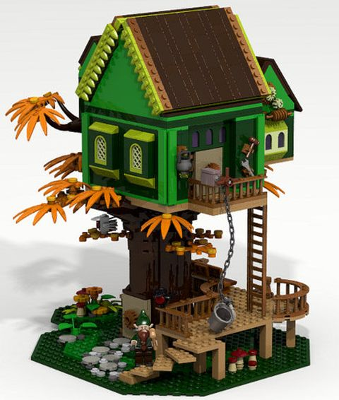 LEGO Tree House by BuildFiend