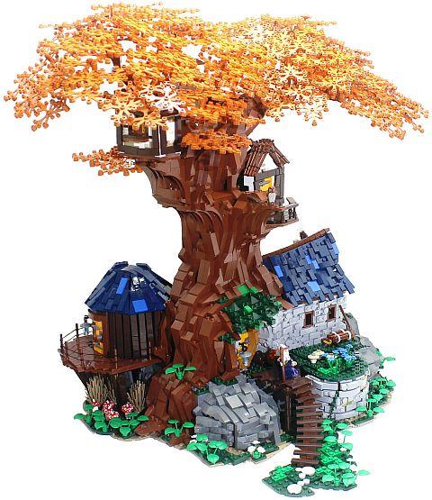 LEGO Tree House by Cesbrick