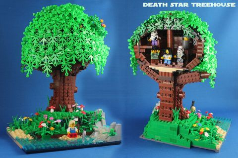 LEGO Tree House by Hen Peril