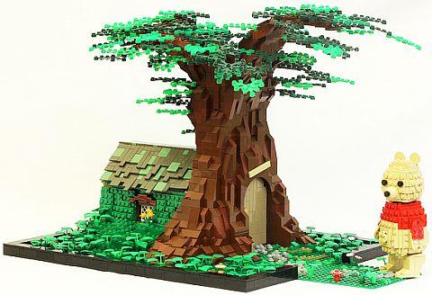 LEGO Tree House by JK Brickworks