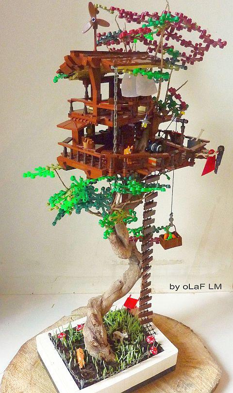 LEGO Tree House by oLaF LM
