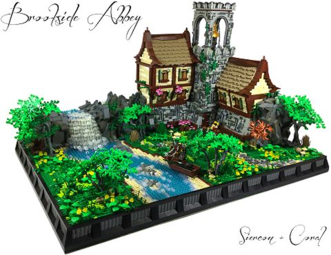 LEGO Tutorials by Sean and Steph Mayo - Brookside Abbey