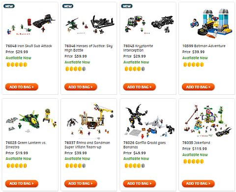 Shop LEGO Batman Sets