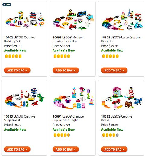 Shop LEGO Classic